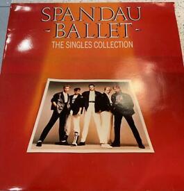 Spandau ballet the singles collection LP album
