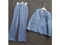 Navy blue next suit