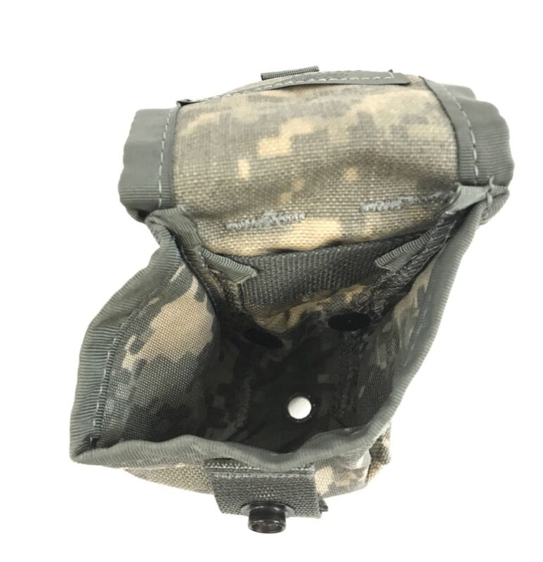 Army ACU Digital Camo MOLLE II Pouches VGC 5 Military Hand Grenade Pouch