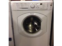Hotpoint WDF740 7kg 1400 Spin White LCD Sensor Dry Washer Dryer 1 YEAR GUARANTEE FREE FITTING