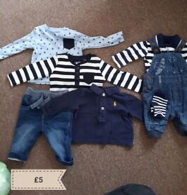 Baby boy clothes 0to3 months