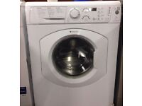 77 Hotpoint HV7F140 7kg 1400 Spin White LCD A Rated Washing Machine 1 YEAR GUARANTEE FREE DEL N FIT