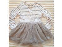 Marks and spencer girl dress 12-18 months