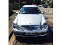 Mercedes-Benz C220 Coupe CDI Sport Edition 2006 2.2 Automatic Silver