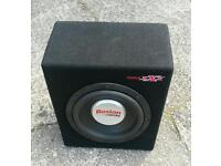 Boston g2 sub subwoofer sub competition loud bass speakers