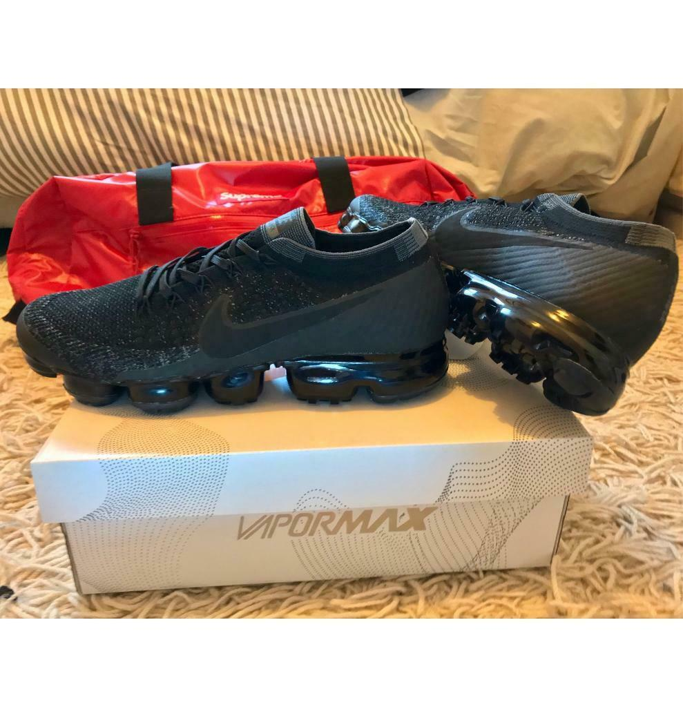 new arrival 39e85 38893 Nike Air Vapormax Flyknit Triple Black Men's UK 9 Trainers BRAND NEW | in  Allerton, West Yorkshire | Gumtree