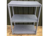 Plastic shelving unit suit garage workshop etc