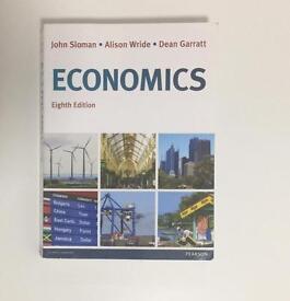Economics 8th edition by John Sloman, Alison Wride and Dean Garratt