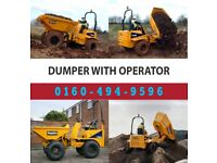 Dumper with Operator