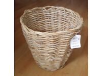 Large Round Rattan Storage Basket, Shop Display or Home Decor