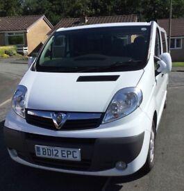 Vauxhall Vivaro Sportive Campervan. 2012. Converted to a high standard
