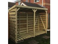 Bespoke Log Store- Free Local Delivery