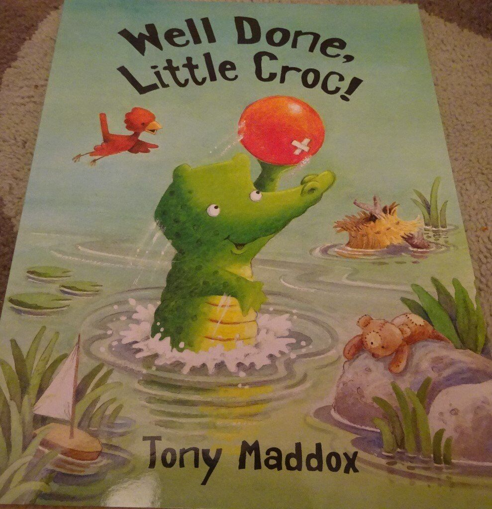 New Well Done Little Croc! children kids story book bedtime only £1 ideal xmas gift