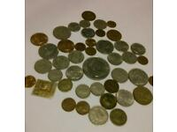 Old British and Foreign coins