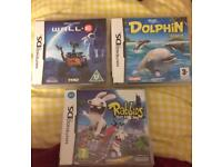 Ds Lite Bundle! With three games
