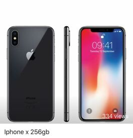 Iphone X 256GB SPACE GREY UNLOCKED BRAND NEW