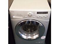 Lg 8 kg direct drive washing machine in silver