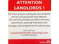 Rental Properties Required - Free Management / Advertising