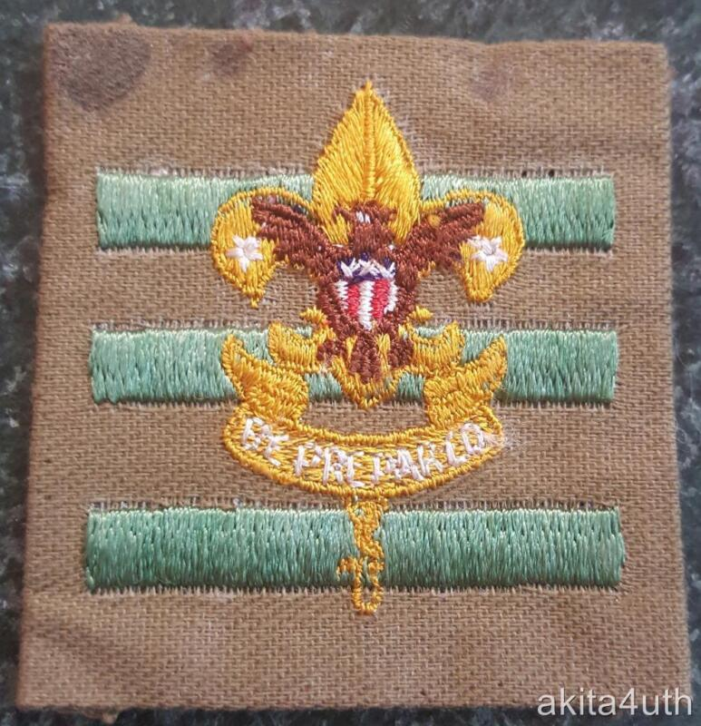 BSA Junior Assistant Scoutmaster Position Fine Twill (J4) 1942-1945 Boy Scout