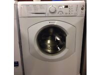 43 Hotpoint WDF740 7kg 1400 Spin White LCD Sensor Dry Washer Dryer 1 YEAR GUARANTEE FREE DEL N FIT