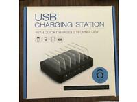 New USB Charging station for phones/tablets with Quick Charge 3