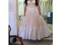 NEW WITH TAGS MORILEE BRIDAL GOWN .SALE PRICE!! size 14/16