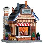 Lemax - Bridgette's Gingerbread Bakery -  B/o Led (Ld)
