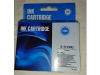 New in box Cyan ink cartridge