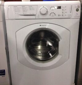 Hotpoint HV7F140 7kg 1400 Spin White LCD A Rated Washing Machine 1 YEAR GUARANTEE FREE FITTING