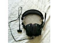 GioTech EX-05 Gaming Headset For Xbox and PS3 PERFECT CONDITION!