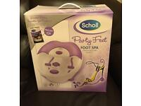 BRAND NEW Scholl Foot Spa
