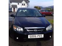 Kia Cerato - affordable & reliable, 78000 miles, MOT until May 2018