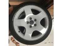 """17"""" Audi Alloys A8 and stretched tyres"""