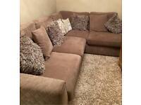 Corner Sofa (Left Hand Facing Arm) £250