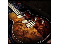 Taylor SolidBody Custom Guitar SBC 1 2007 LIMITED EDITION Top of Taylor Electric Range - SUPERB !!