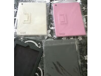 3x case cover bag full protection for Apple iPad 2 3 4 , 2nd 3rd 4th , Pink White Black , Brand New