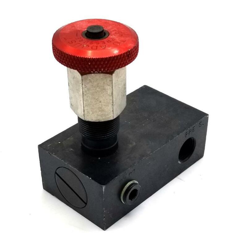 Parker Hannifin RP-600 Colorflow Pressure Relief Valve