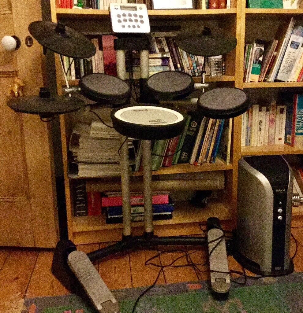 Roland electronic HD-3 V drums lite, plus PM-03 monitor