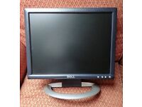 """Dell 15"""" Monitor - complete with mains lead"""