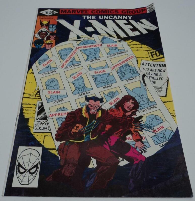 X-MEN #141 DAYS OF FUTURE PAST (1981) Intro future X-MEN (FN+) 1st app Rachel