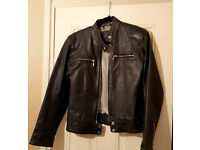 Real Leather Short Ladies Jacket.