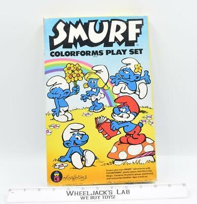 Smurfs Colorforms Play Set 1981