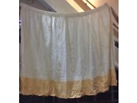 Curtains white, only £17
