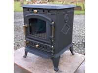 NEW Warmland 2 Cast Iron Coal & Woodburning Multi-fuel Stove