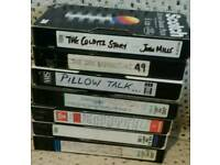 FREE 37 VHS VIDEO'S.
