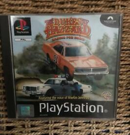 PlayStation 1 dukes of hazzard game. Ps1