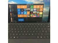 Microsoft Surface Pro 4 M3 4GB RAM and 128GB storage, including PEN and TYPE cover