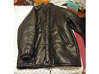 Mens black puffer jacket