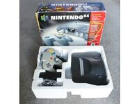 Console nintendo N64 boxed