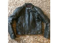 Motorcycle jacket Hein Gericke leather small